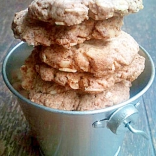 オートミールとオールブランのざくざくクッキー