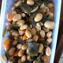 昆布入り煮豆
