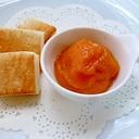 熟れた柿で作る柿ジャム