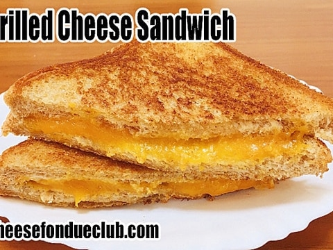 グリルドチーズサンドイッチ(チーズのホットサンド)