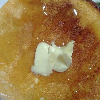 ホットプレートで♪簡単楽しい美味しいパンケーキ