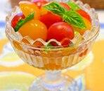 プチトマトのはちみつジンジャーマリネ