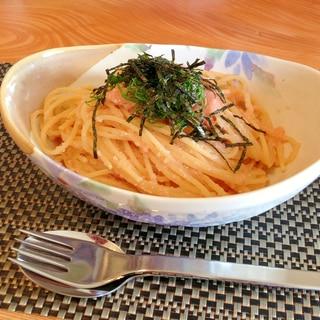 簡単!美味しい!!明太子パスタ(^^)
