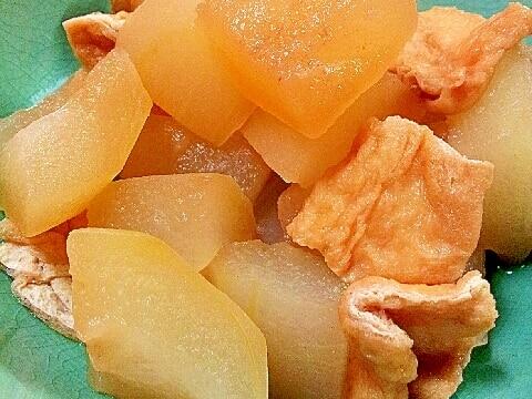 柔らかくてトロッとろ✿冬瓜と油揚げの煮物❤