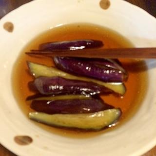 麺つゆで簡単に☆ナスの煮浸し