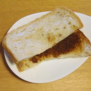 ベトナムコーヒーのサンドイッチ