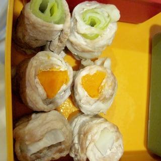 豚肉の野菜巻き