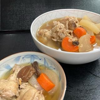 体ポカポカ大根と鶏肉の煮物