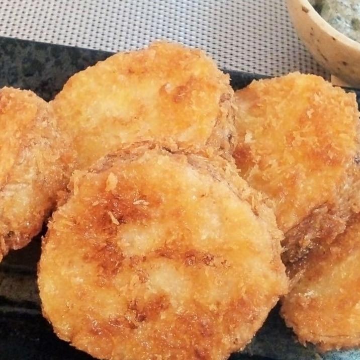 ♪サックサクの長芋フライ♡海苔マヨ添え♪