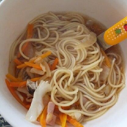 スープのみ参考にさせていただきました!今まで作ってたレシピより香ばしくて美味しい‼️子ども達も美味しい‼️と言ってパクついてくれました。