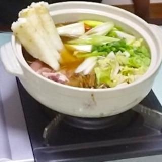 きりたんぽ鍋!野菜たっぷり