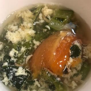 時短でできる具沢山!たまごスープ
