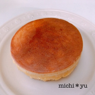 水切りヨーグルトでふわふわパンケーキ