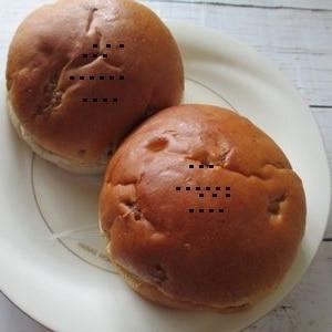 簡単あんパン★大豆粉パンケーキミックスで
