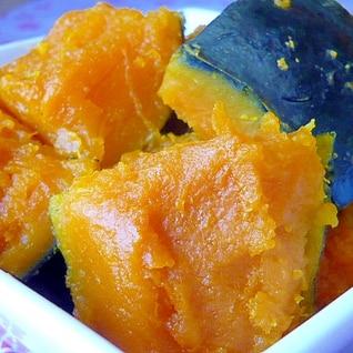 冷凍かぼちゃのほっこり煮(*′ლ‵*)