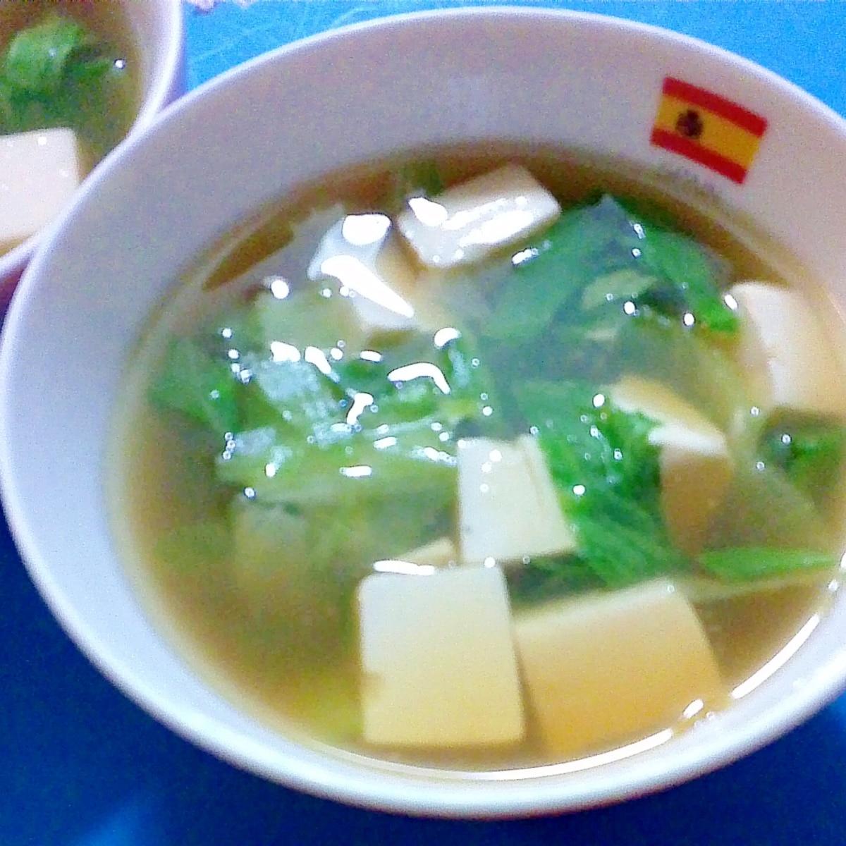レタス スープ レシピ 人気