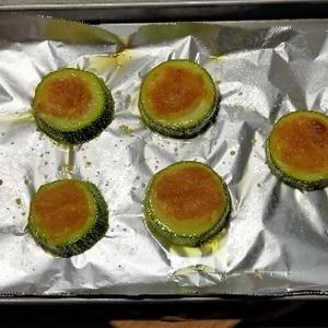お弁当に★ズッキーニのチーズ焼き