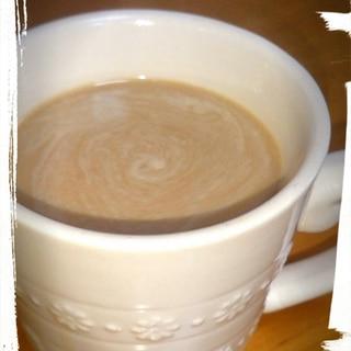 珈琲にココナッツミルクパウダー☆