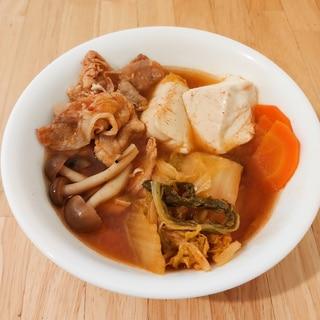 うま辛★簡単キムチ鍋