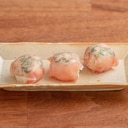 【あづまっぺ。創刊号】うこぎと生ハムの手まり寿司