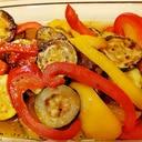 暑い日にも箸が進む!焼き野菜のマリネ
