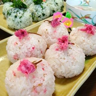 桜ごはんです☆見てわあ~♪薫りほわっ♪春を満喫っ♪