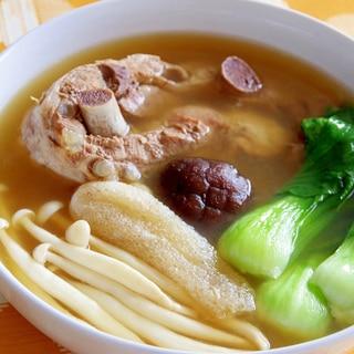 #18 スペリブの中華薬膳スープ