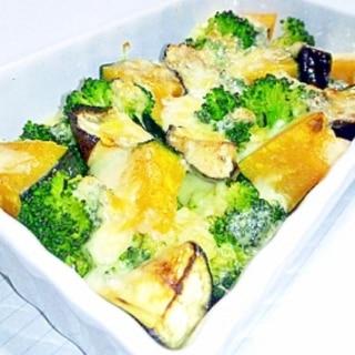 いろいろ野菜のチーズ焼き