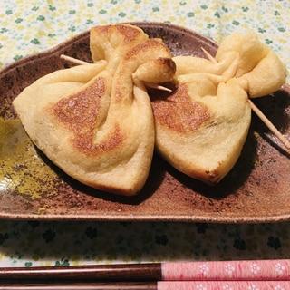 納豆の茶巾焼き