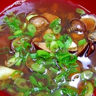 シジミの佃煮・しじみのみそ汁・シジミの砂抜き