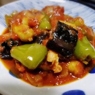 豚バラと夏野菜のトマト煮込み♪ ラタトゥイユ風★