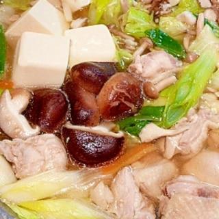 塩鶏鍋の味が決まる!日本の誇る調味料。