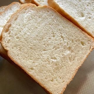 ホームベーカリーで上新粉湯種の牛乳食パン