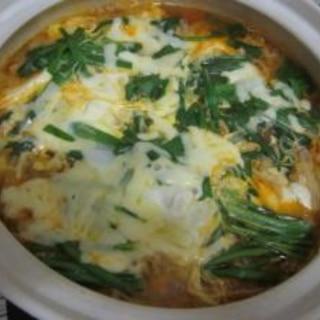 焼肉のタレで本格キムチ鍋