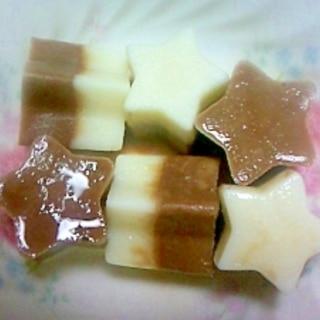 お手軽チョコ&ミルク★☆2色アイスキャンディー★☆