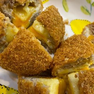 チーズ入り半熟とろーりスコッチエッグ