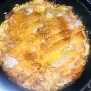 市販のカツで簡単カツ煮‼カツ丼‼︎