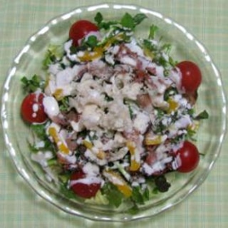 クレソンのサラダ