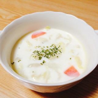 キャベツと人参のミルクスープ