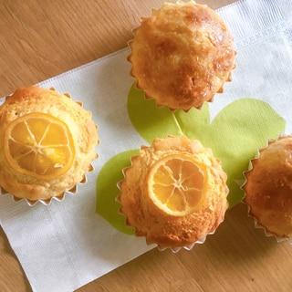 ホットケーキミックスで作る☆レモンマフィン♪