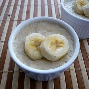 バナナプリン☆お鍋で簡単