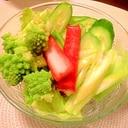 簡単☆ロマネスコのサラダ その2