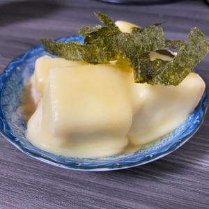 レンジで絶品!ふわとろ♪木綿豆腐のチーズおかか