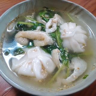 ★市販の小龍包と残り野菜で簡単中華スープ★