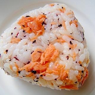 鮭とゆかりのおにぎり