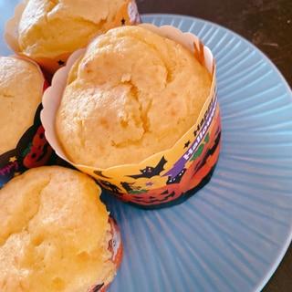 ホットケーキミックスで簡単かぼちゃマフィン