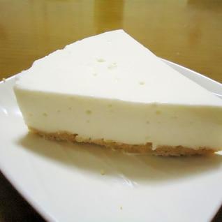 ゼラチンで簡単!レアチーズケーキ