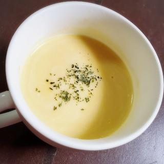 ひんやりコーンクリームスープ