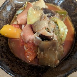 ヘルシー・栄養満点・簡単!食べる野菜スープ【温冷可