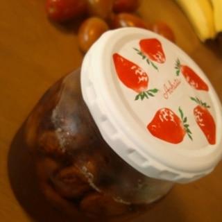 かぐわしい香り§ビワの種漬け蜂蜜§